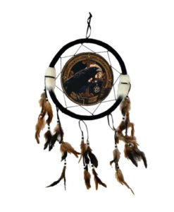 crow raven wren dreamcatcher