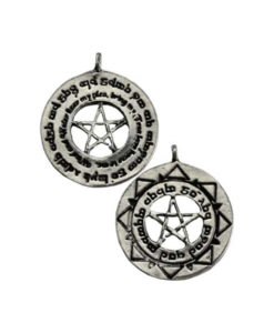 Draw Soul Mate Pentacle Spell Necklace Wiccan Jewelry