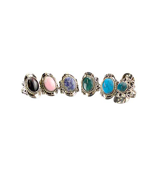 Stone Adjustable Ring