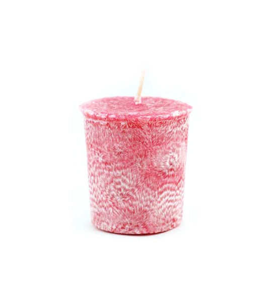 Jasmine Palm Oil Votive Candle