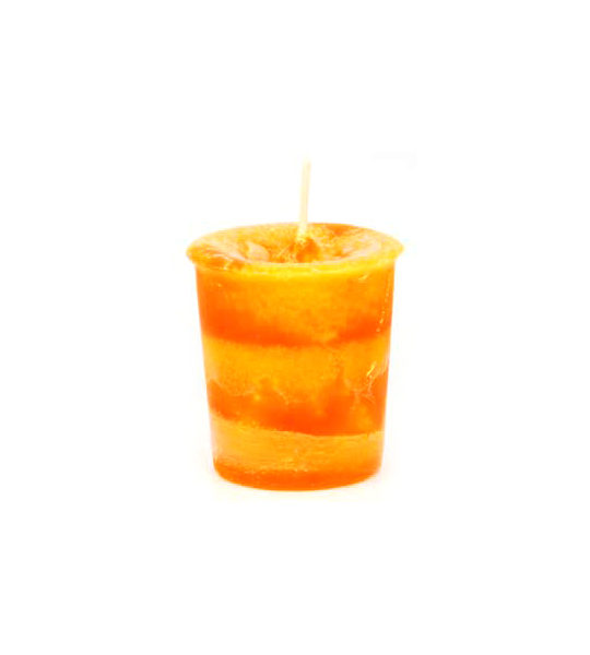 Orange Joy Herbal Votive Candle