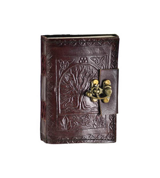 Tree of Life small Leather Journal