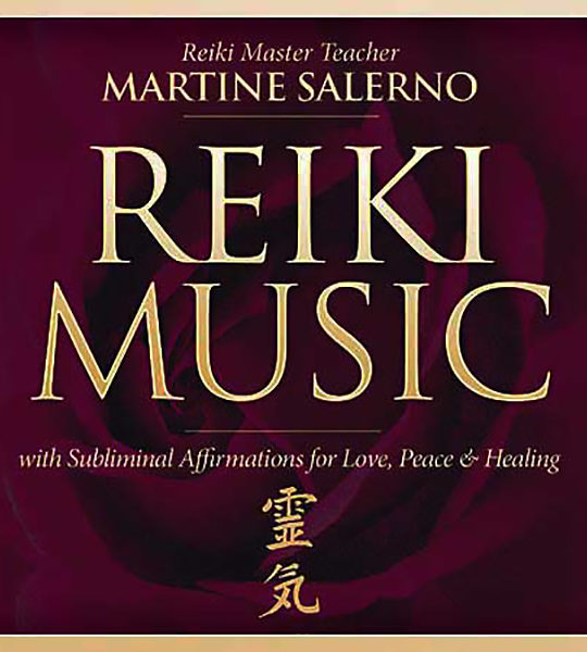 reiki music affirmation cd