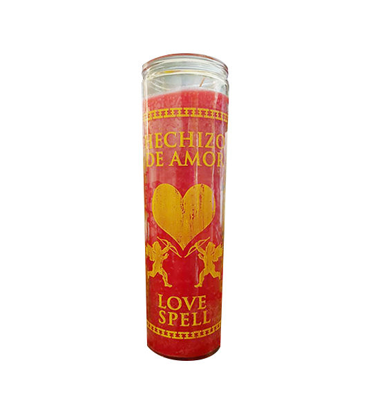 Red Love Spell Jar Candle