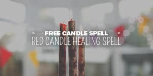 Red Candle Healing Free Spell