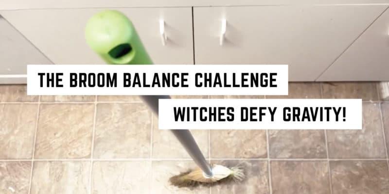 Broom balance trick wicca equinox