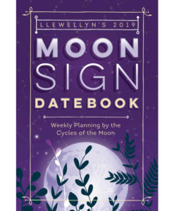 llewellyn 2019 moon sign datebook